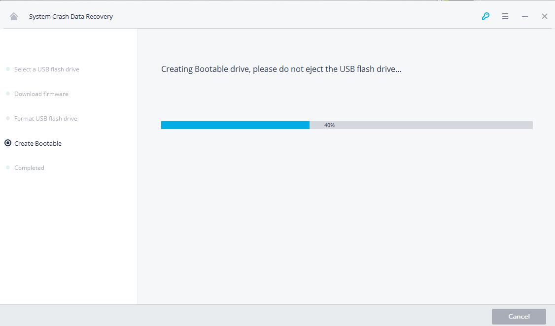 creating usb bootable drive